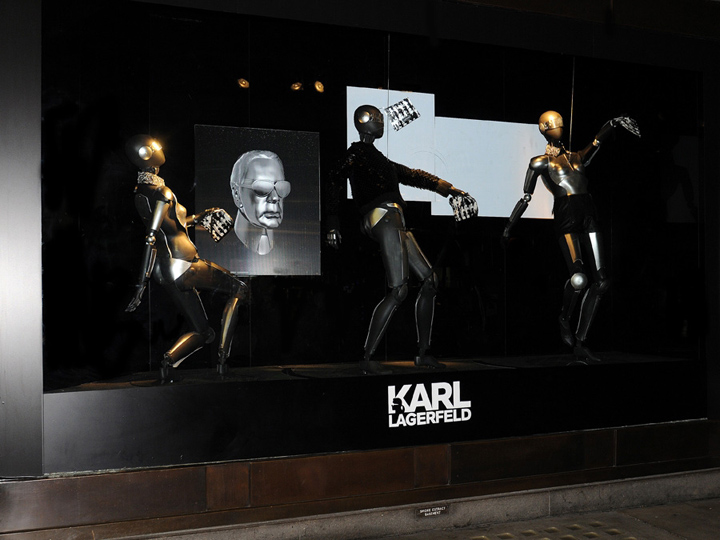 u00bb karl lagerfeld window displays at selfridges by liganova