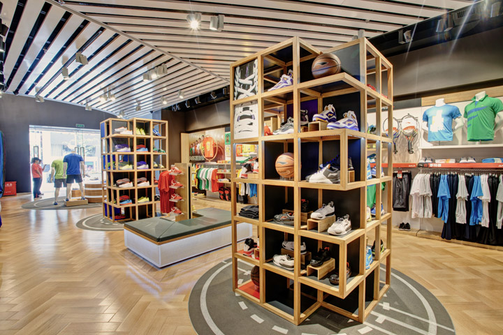 Rustic Retail Store Design - Clothing on display at the J.Crew Men s