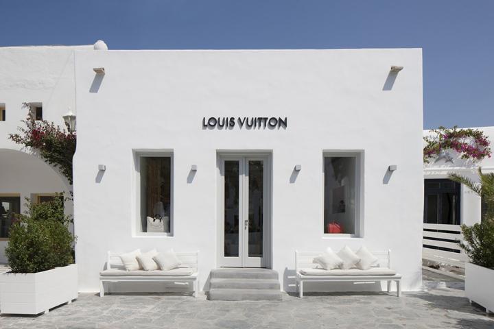 Pop Up Louis Vuitton Pop Up Store Mykonos Greece