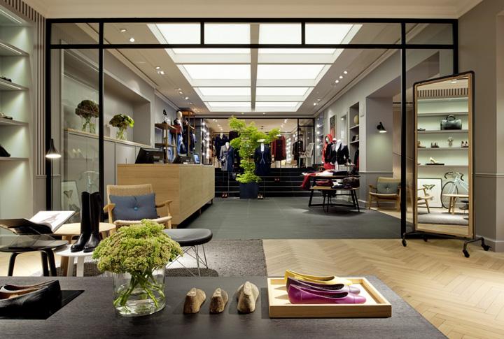 marc o polo flagship store munich. Black Bedroom Furniture Sets. Home Design Ideas