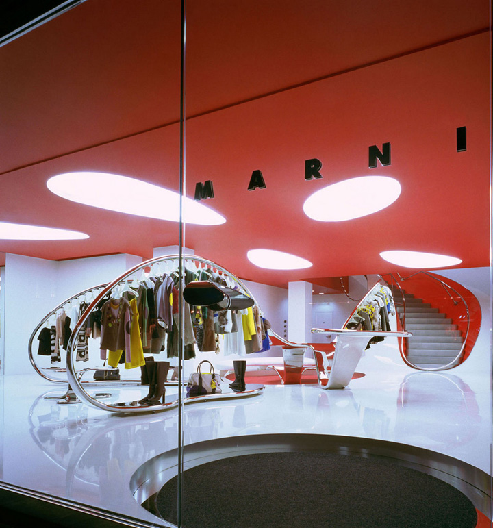 Shop Stores: » Marni Flagship Store By Sybarite, London