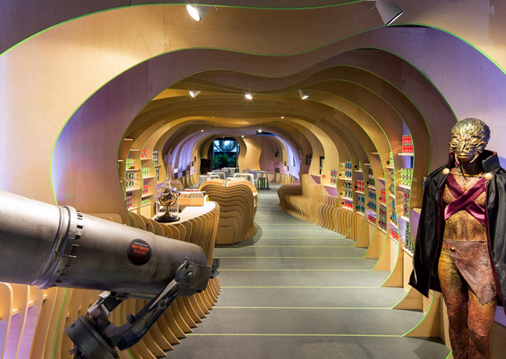 Martian embassy by lava sydney retail design blog for Interior design agency sydney