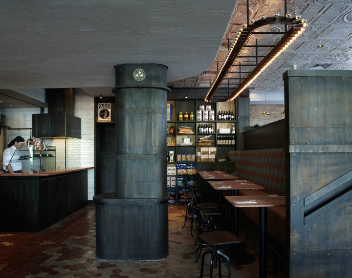 Matto restaurant by pure creative shanghai - Interior leather bar free online ...