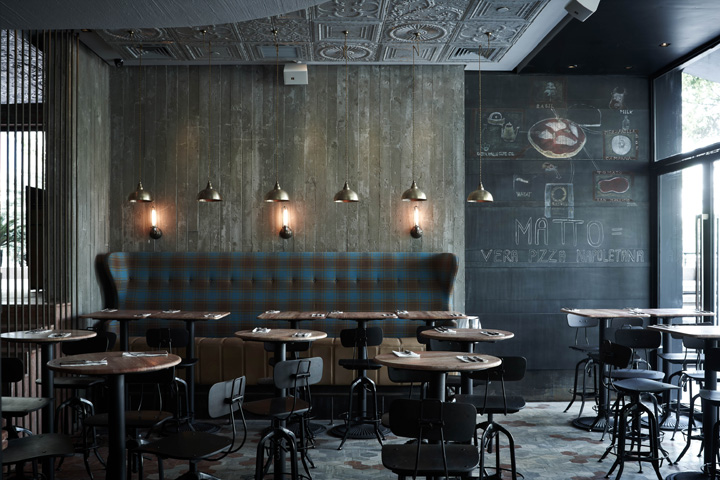 Diners retail design