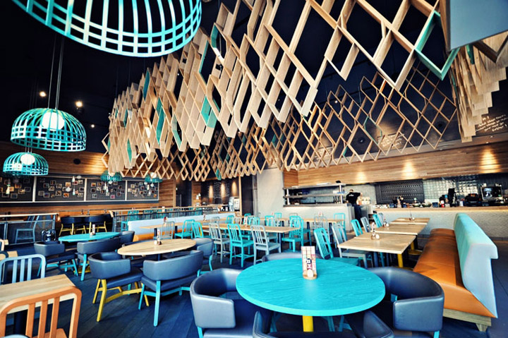 Nando s restaurant by blacksheep ashford retail design