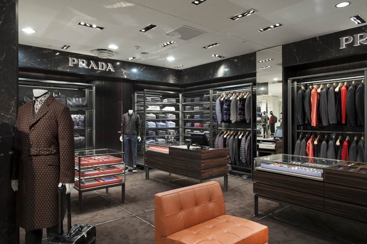 » Prada Men's Corner at Printemps by Roberto Baciocchi, Paris