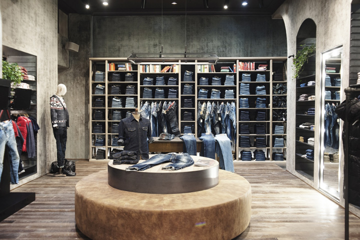 Replay Store Cologne 187 Retail Design Blog