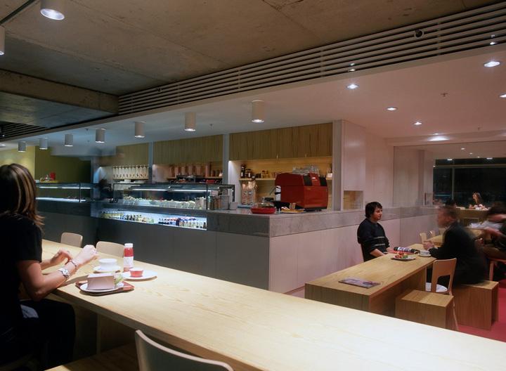 Smxl restaurant by hassell fabio ongarato design