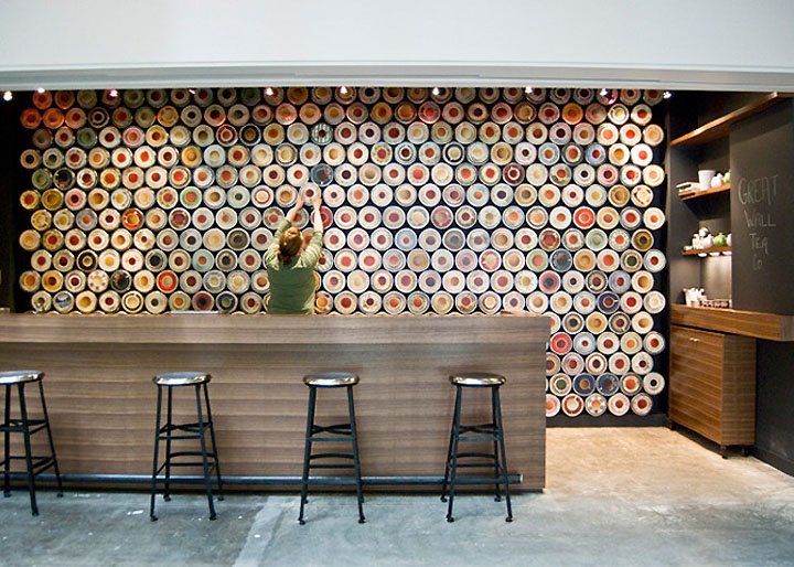TEA SHOP Great Wall Tea Company by Marianne Amodio New