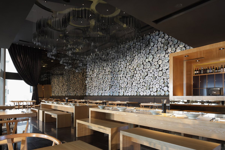 Taiwan noodle house by golucci international design Design house international