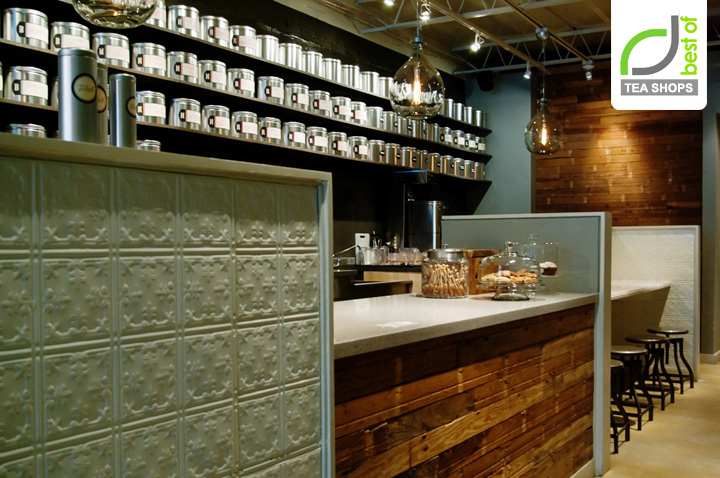 TeBella Tea Shop Interior Design