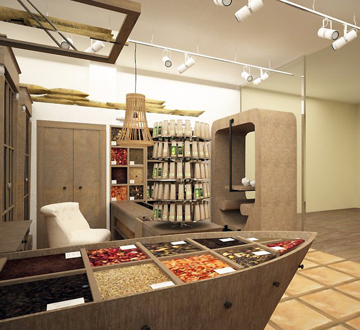Tea Shop Tea Shop By Kristina Krutaya 187 Retail Design Blog