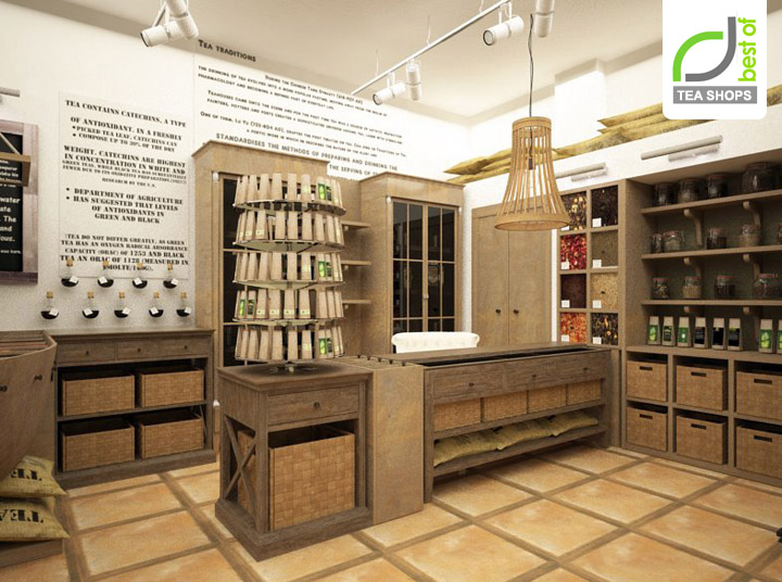 tea shop » Retail Design Blog