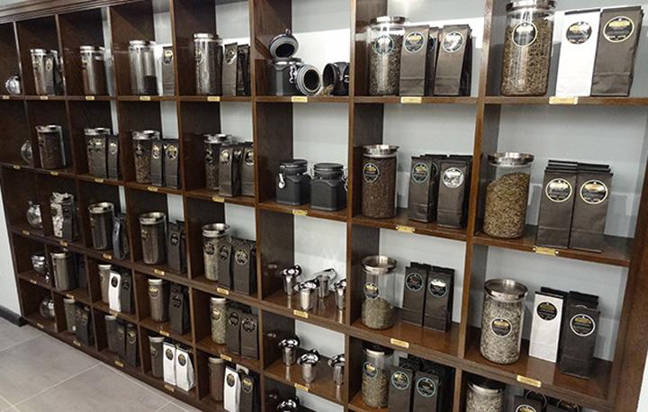 Дизайн магазина чая и кофе