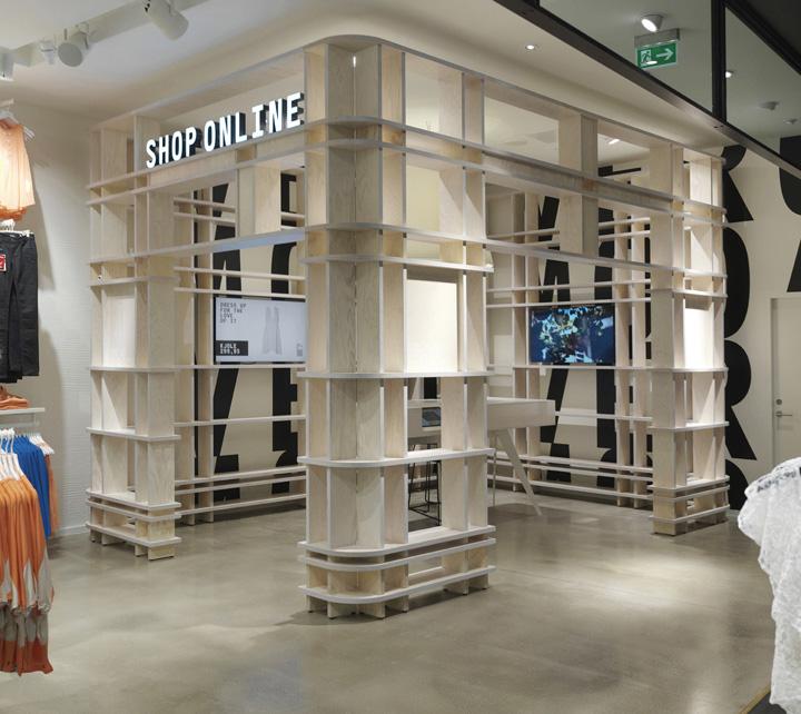 » Vero Moda Flagship Store By Riis Retail, Aarhus
