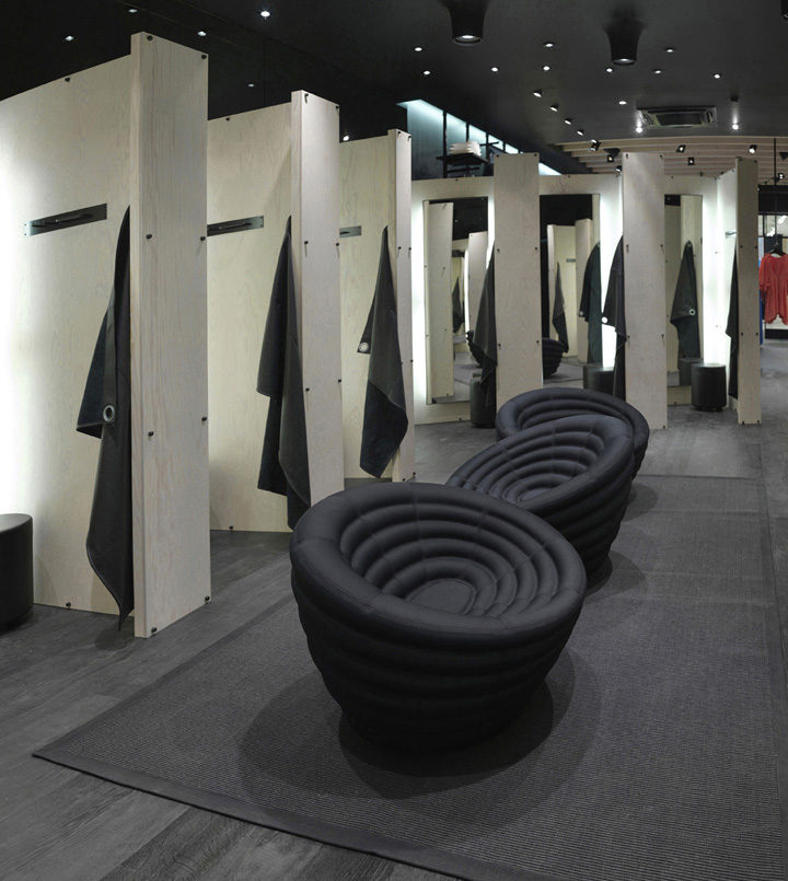 Awesome Vero Moda Flagship Store By Riis Retail Aarhus Denmark Store Dressing Room  Ideas Part 7