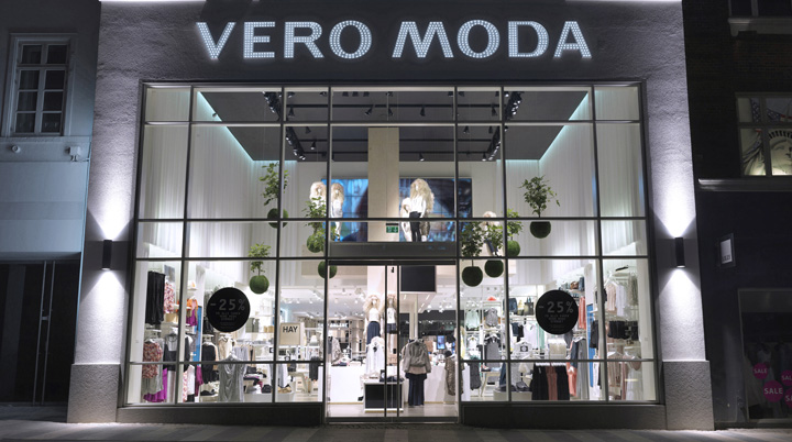 187 Vero Moda Flagship Store By Riis Retail Aarhus Denmark