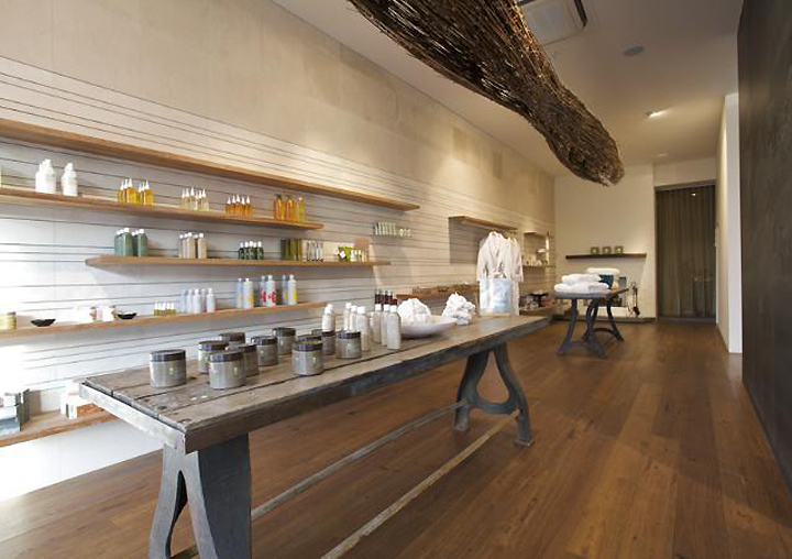 The Uspa Interior Uses Raw Materials Organic