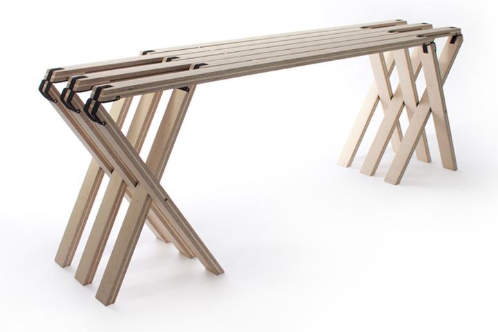 ghế đa năng và kệ 3D độc đáo