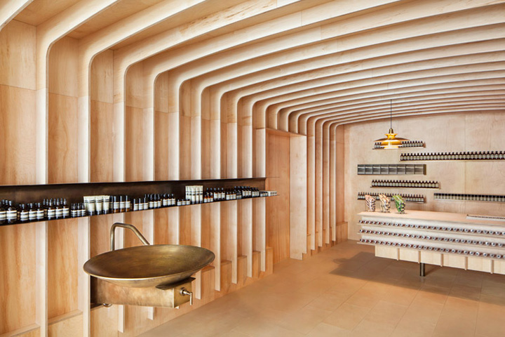 Aesop store by March Studio, New York » Retail Design Blog