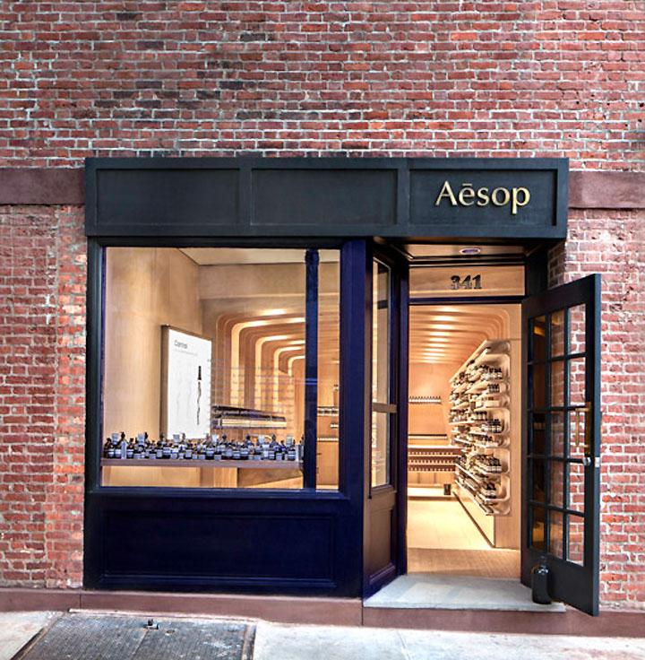 Shop Front Design Retail: Aesop Store By March Studio, New York » Retail Design Blog