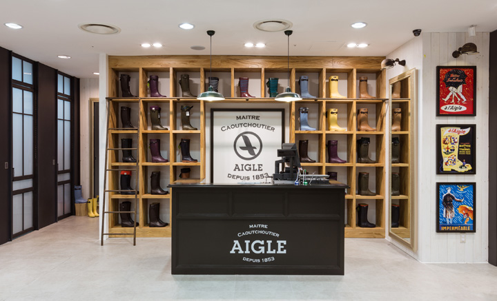 Aigle flagship store by khanproject, Seoul » Retail Design Blog