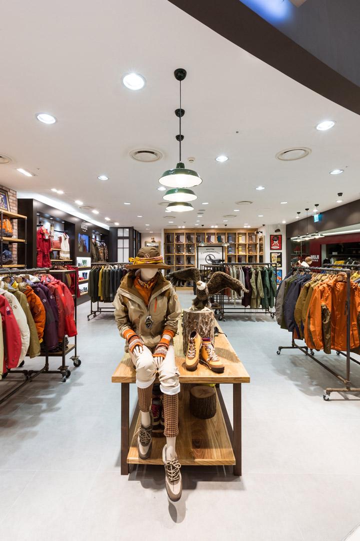 187 Aigle Flagship Store By Khanproject Seoul