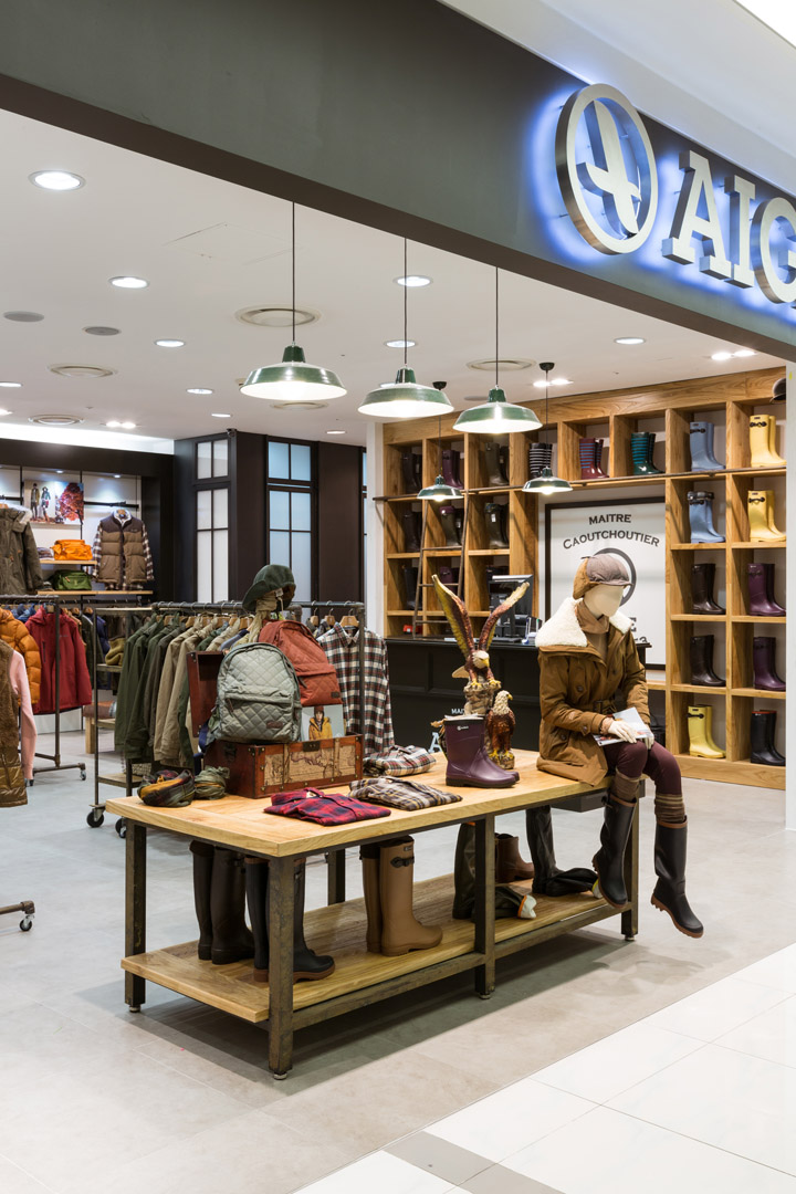 187 Aigle Flagship Store By Khanproject Seoul