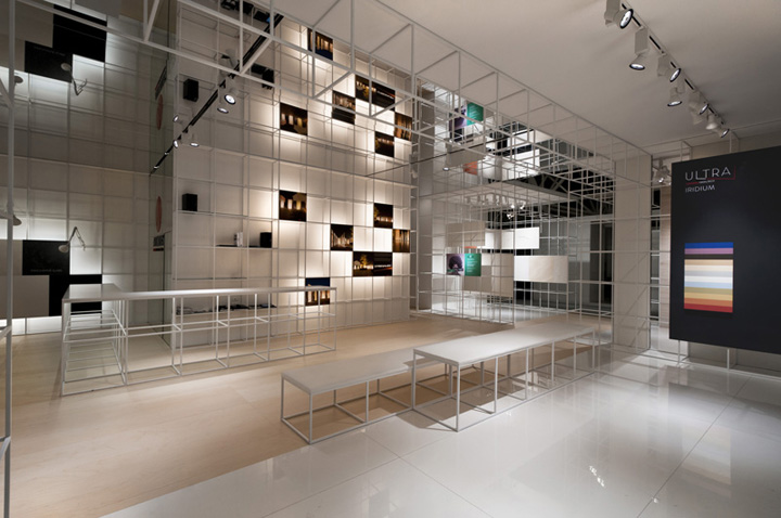 Exhibition Booth Area : Ariostea booth at cersaie by marco porpora bologna