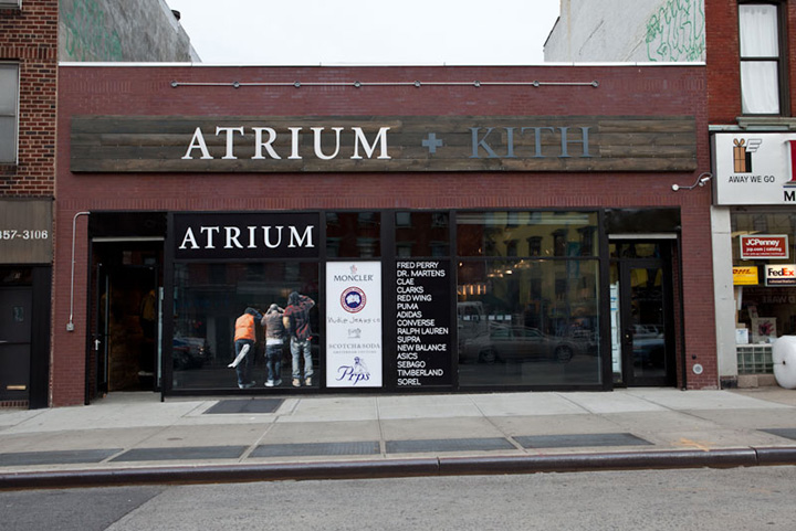 Atrium Amp Kith Store New York 187 Retail Design Blog