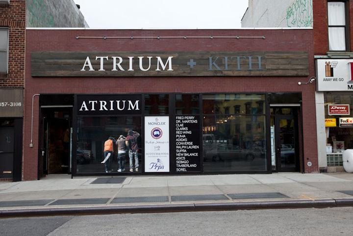 Atrium & Kith store New York Retail Design Blog