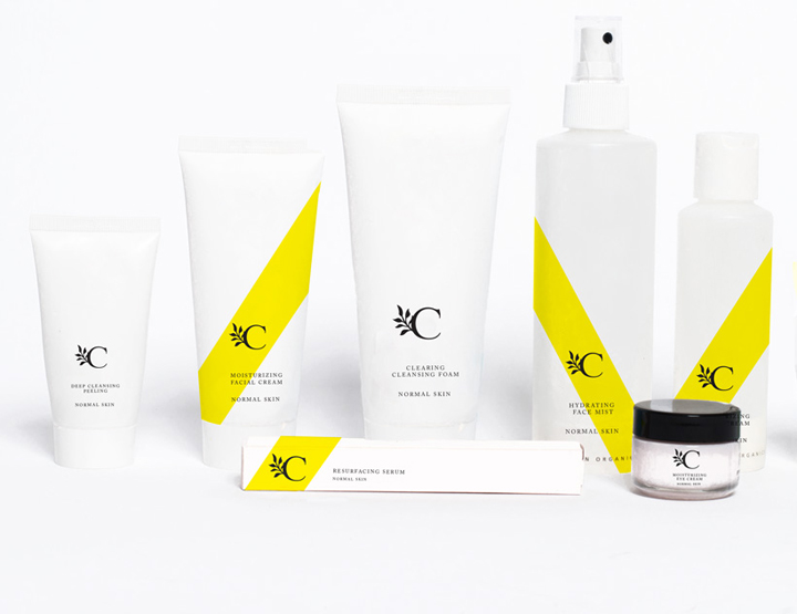 Calm Skin Care Package Design And Branding By Blanc