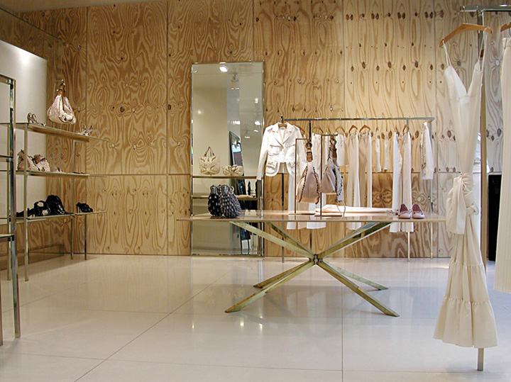Chlo flagship store by sophie hicks london retail design blog Interior design stores london