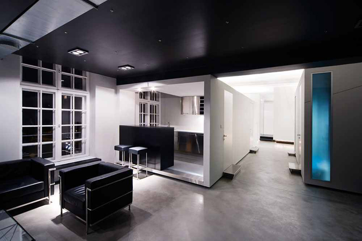 loft office design. hungarian architects loft office design