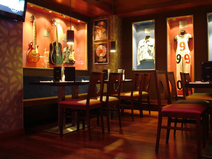 187 Hard Rock Cafe Glyfada By Dimitris Economou Interiors Athens