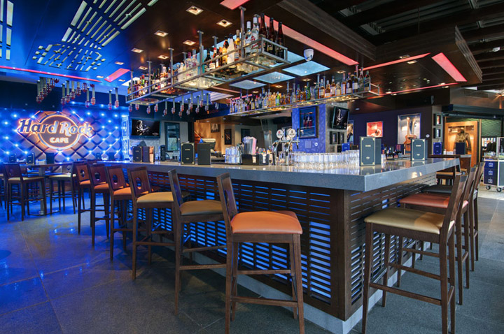 187 Hard Rock Cafe Glyfada By Dimitris Economou Interiors