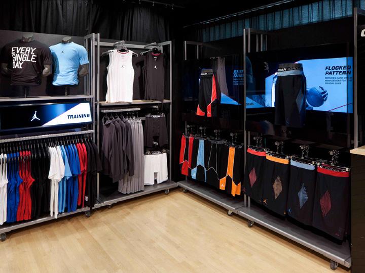 Sportswear Stores Jordan Store Interactive Display By