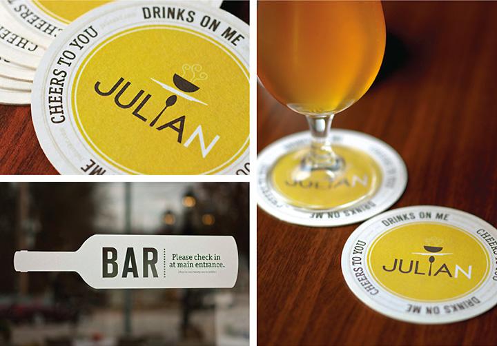 Julian restaurant branding by jordan grey