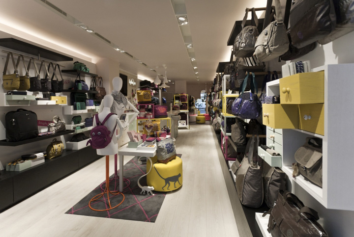 Kipling store by UXUS, London » Retail Design Blog