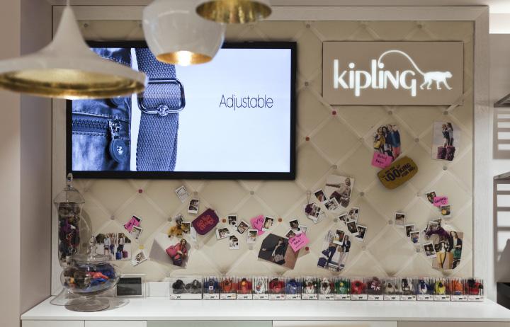 kipling store by uxus  london  u00bb retail design blog