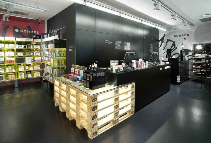 stores all natural Natural  Korres BEAUTY cosmetics Prague 05 STORES! makeup store Greek Natural