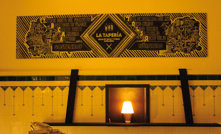 la taper a pop up tapas bar by aretio kloos nuremberg germany retail design blog. Black Bedroom Furniture Sets. Home Design Ideas