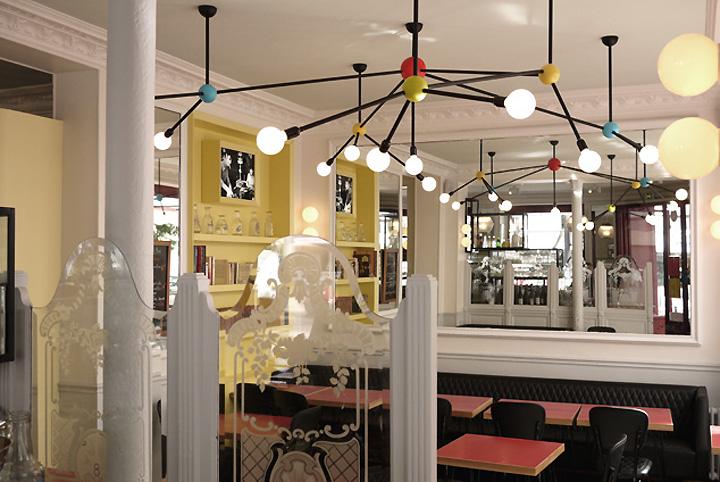 Les enfants de la balle wine bar by Studio JANREJI, Paris » Retail ...
