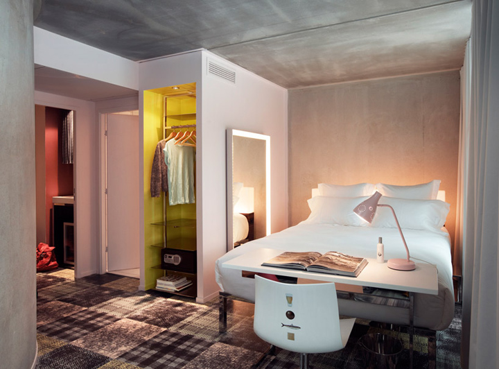 Mama shelter hotel by philippe starck marseille retail for Hotel design marseille