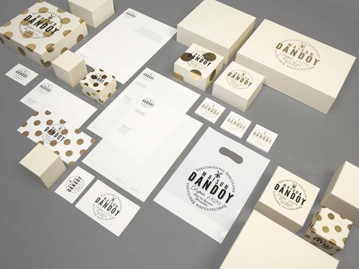 Visual identity retail design blog for Maison brand