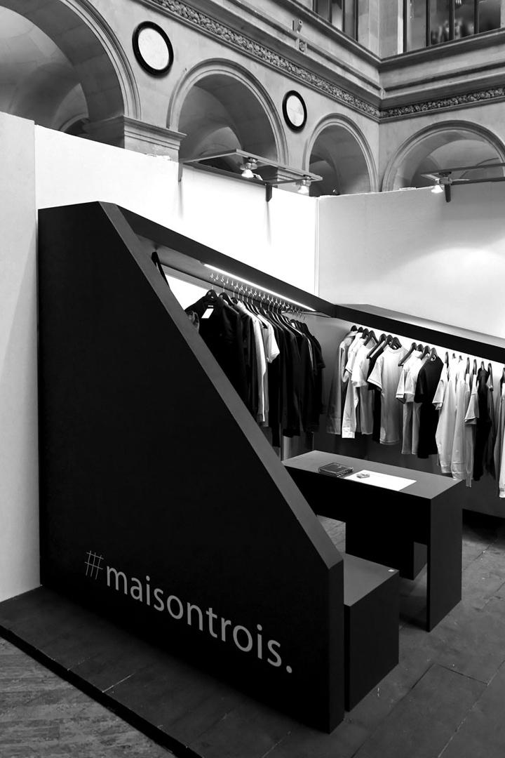 Exhibition Stand Idea : Maisontrois exhibition stand by nicolas dorval bory