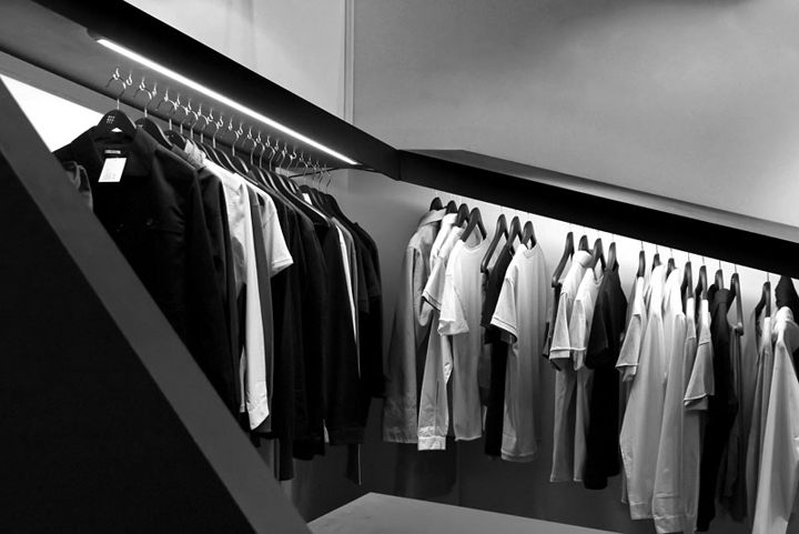 Exhibition Stand Clothes : Maisontrois exhibition stand by nicolas dorval bory architect paris