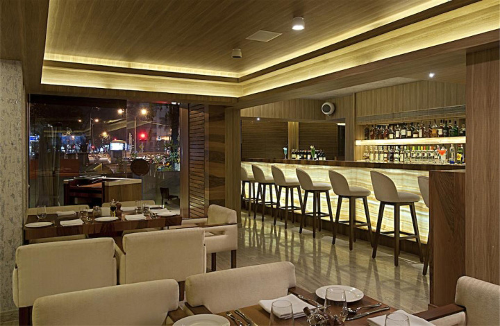 Mangiamo restaurant by zz architects mumbai