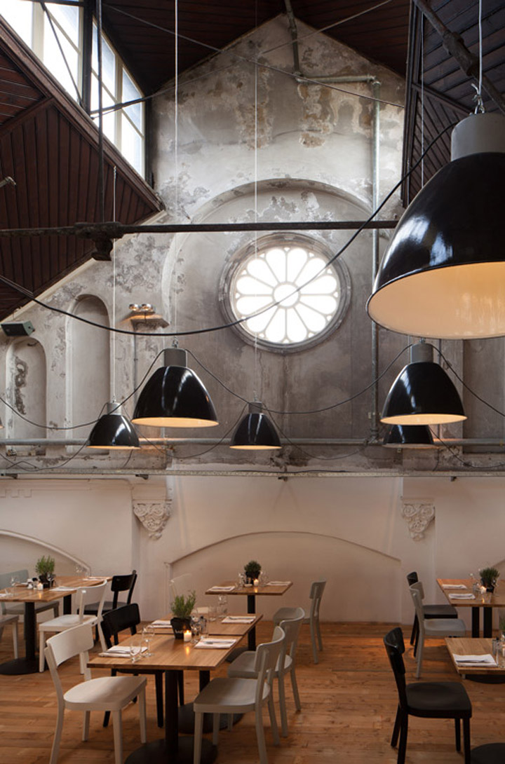 Mercat restaurant by concrete amsterdam retail design