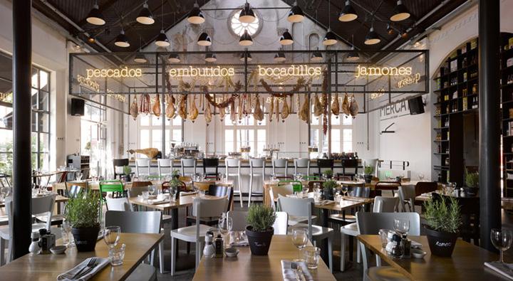 187 Mercat Restaurant By Concrete Amsterdam